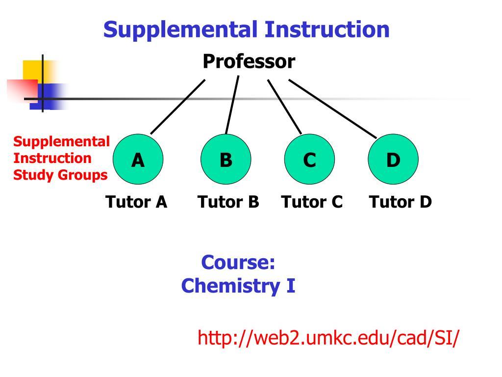 Supplemental Instruction