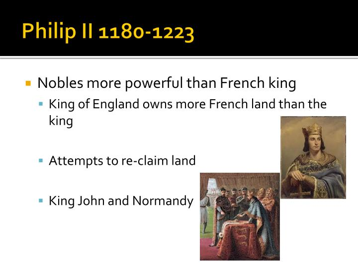 Philip II 1180-1223