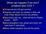what can happen if we don t produce less co2
