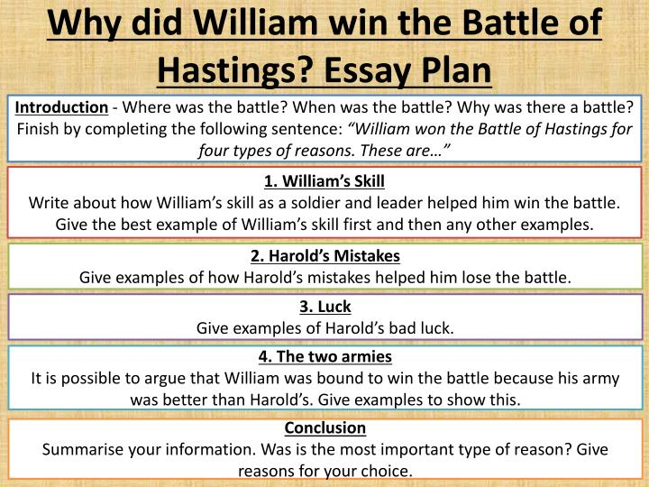why did william win the battle of hastings How did william won the battle of hastings what were the major reasons for this win update cancel  why did william win the battle of hastings so .