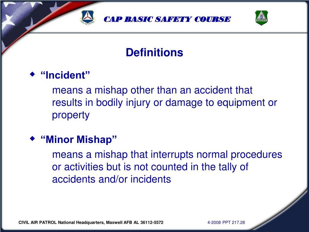 """""""Incident"""""""