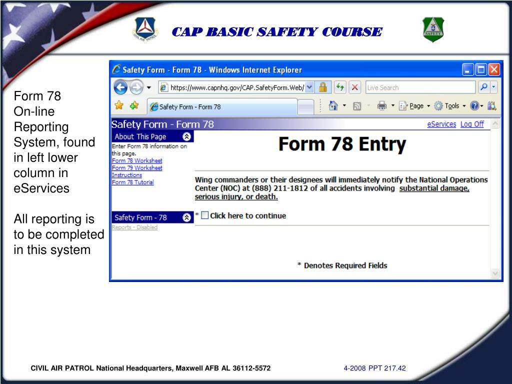 Form 78