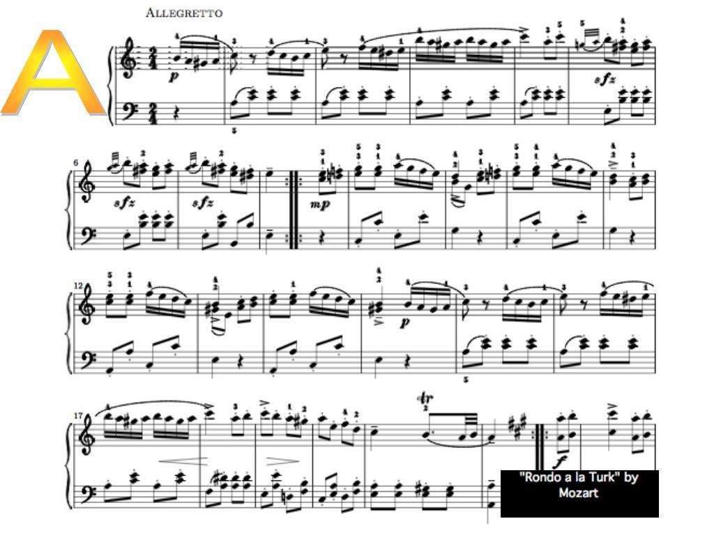 Alla Turca Mozart ppt - rondo alla turca powerpoint presentation, free