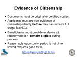 evidence of citizenship12