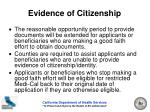 evidence of citizenship16