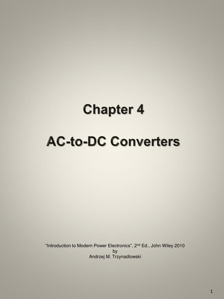 chapter 4 ac to dc converters n.