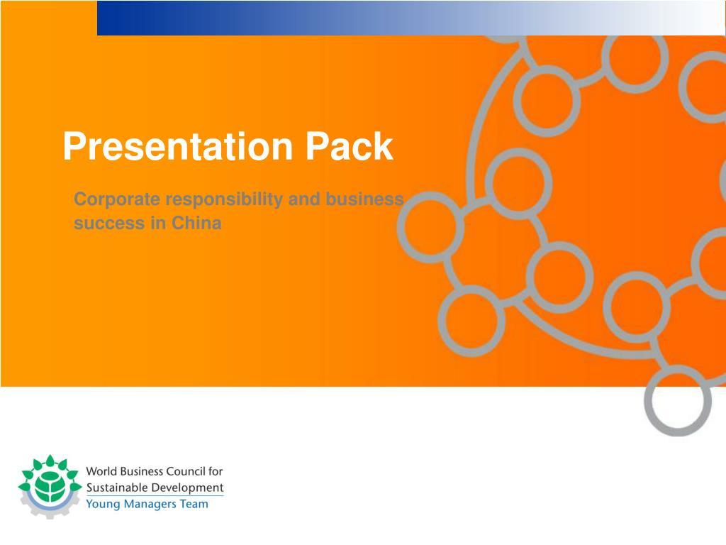 Presentation Pack