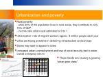 urbanization and poverty