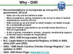 why gwi
