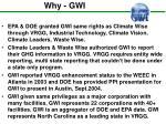 why gwi6