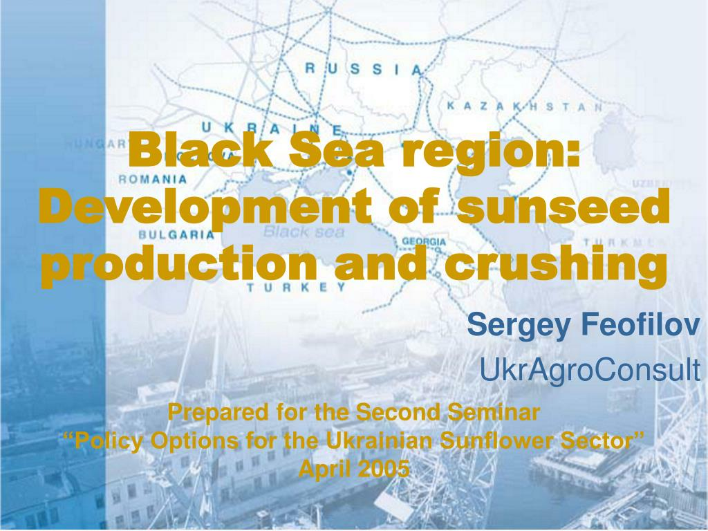 black sea region development of sunseed production and crushing