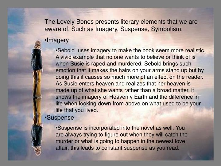 the lovely bones literary devices