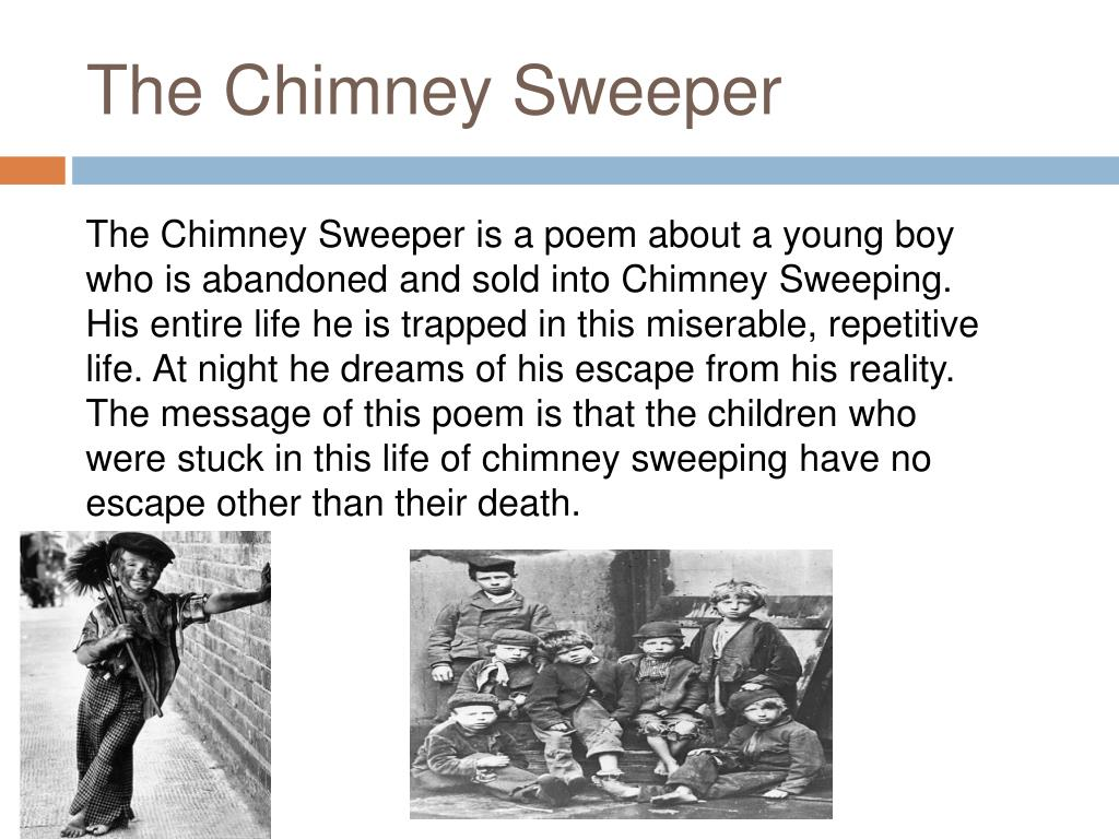 Ppt The Chimney Sweeper By William Blake Page 739