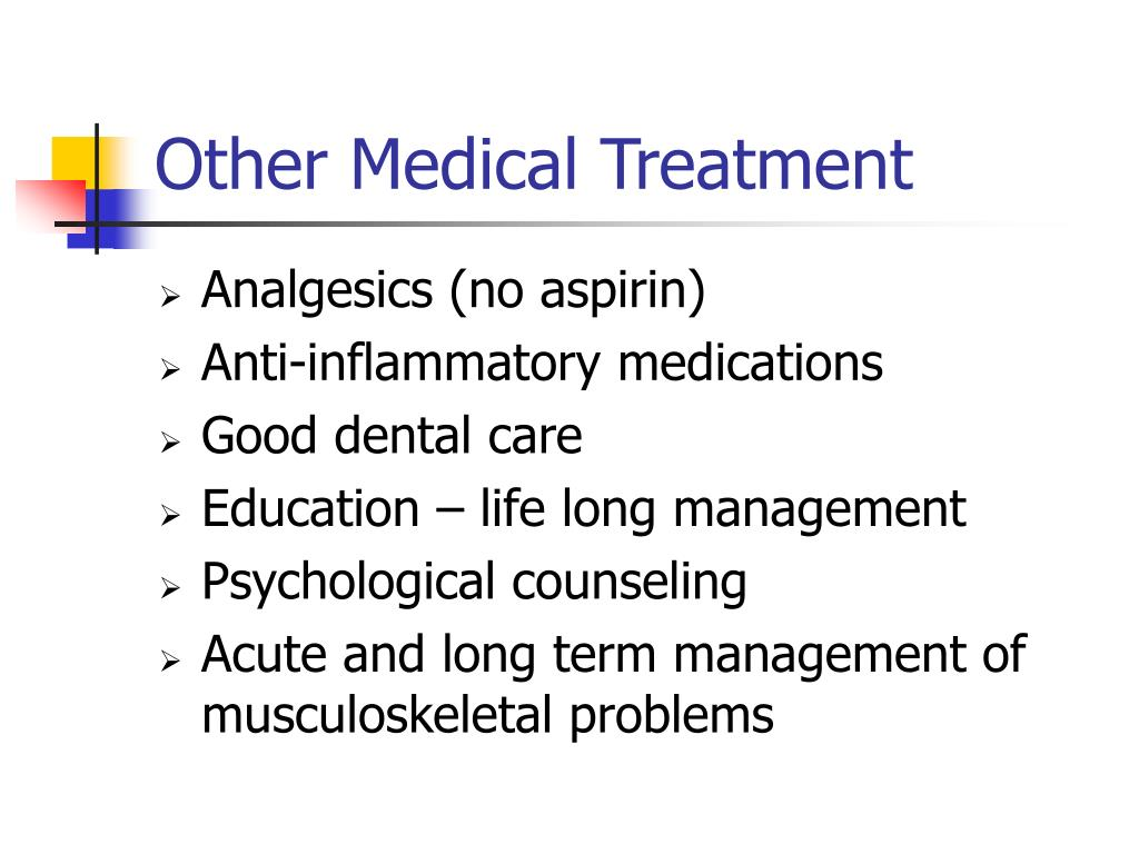 Other Medical Treatment
