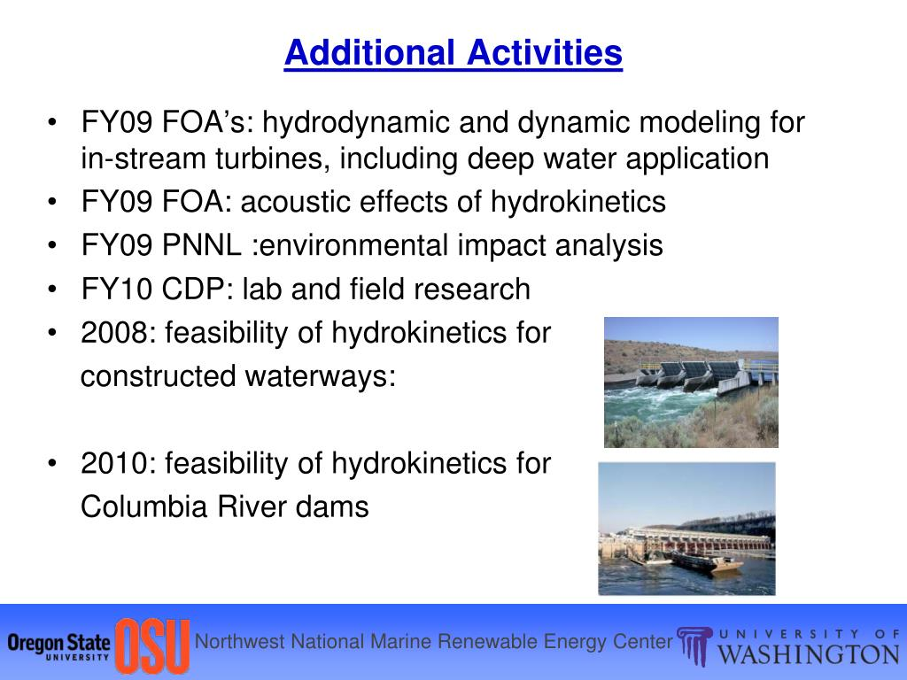 FY09 FOA's: hydrodynamic and dynamic modeling for  in-stream turbines, including deep water application