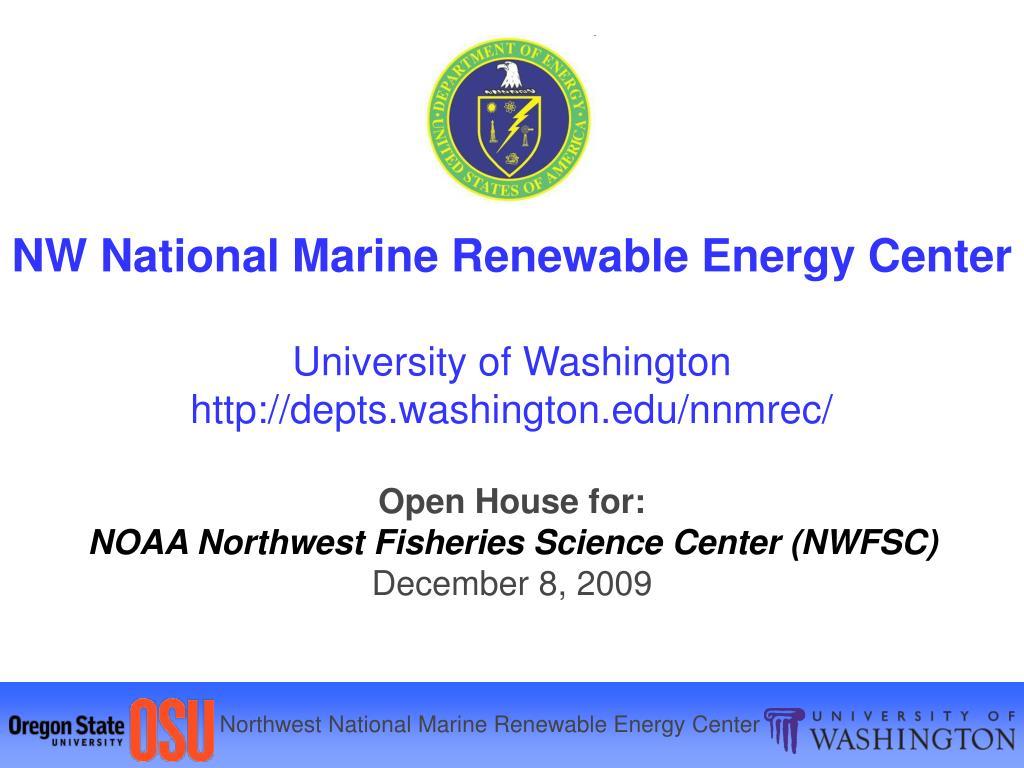 NW National Marine Renewable Energy Center