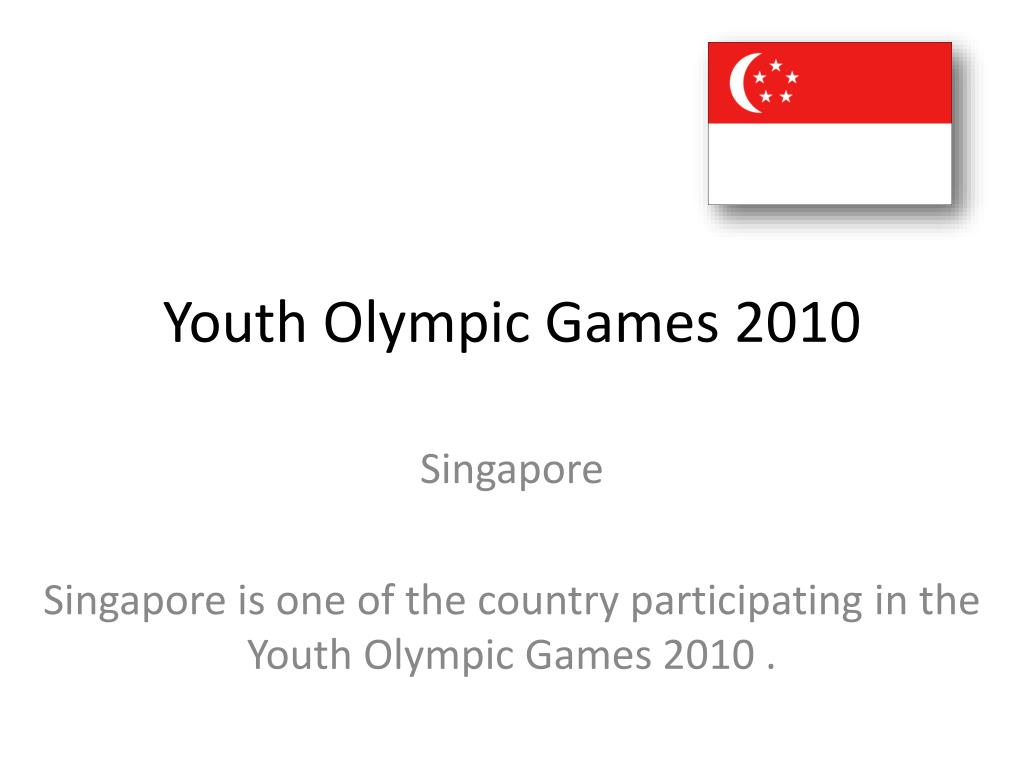 youth olympic games 2010 l.