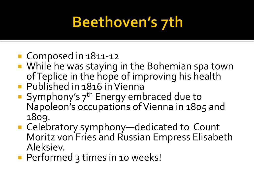 Beethoven's 7th