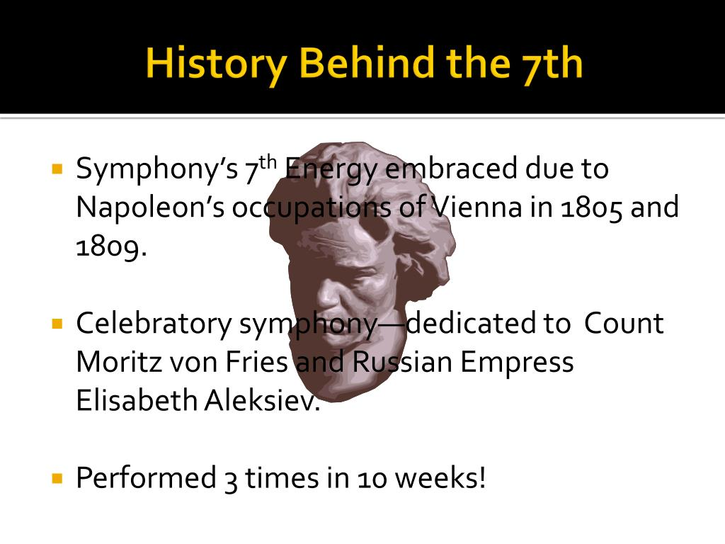 History Behind the 7th