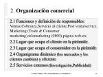 2 organizaci n comercial