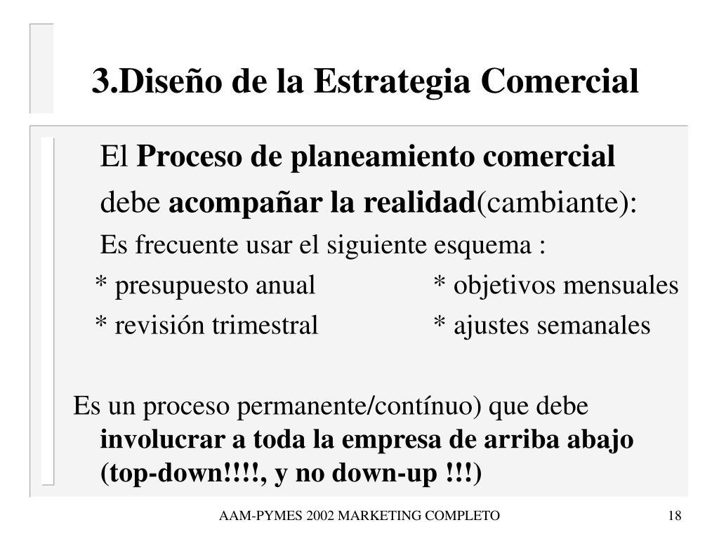 3.Diseño de la Estrategia Comercial