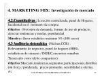 4 marketing mix investigaci n de mercado25