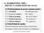 6 marketing mix precio y condiciones de venta38