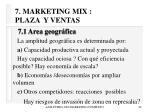 7 marketing mix plaza y ventas42