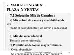 7 marketing mix plaza y ventas43