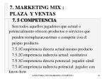 7 marketing mix plaza y ventas46