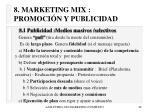 8 marketing mix promoci n y publicidad48