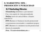 8 marketing mix promoci n y publicidad52