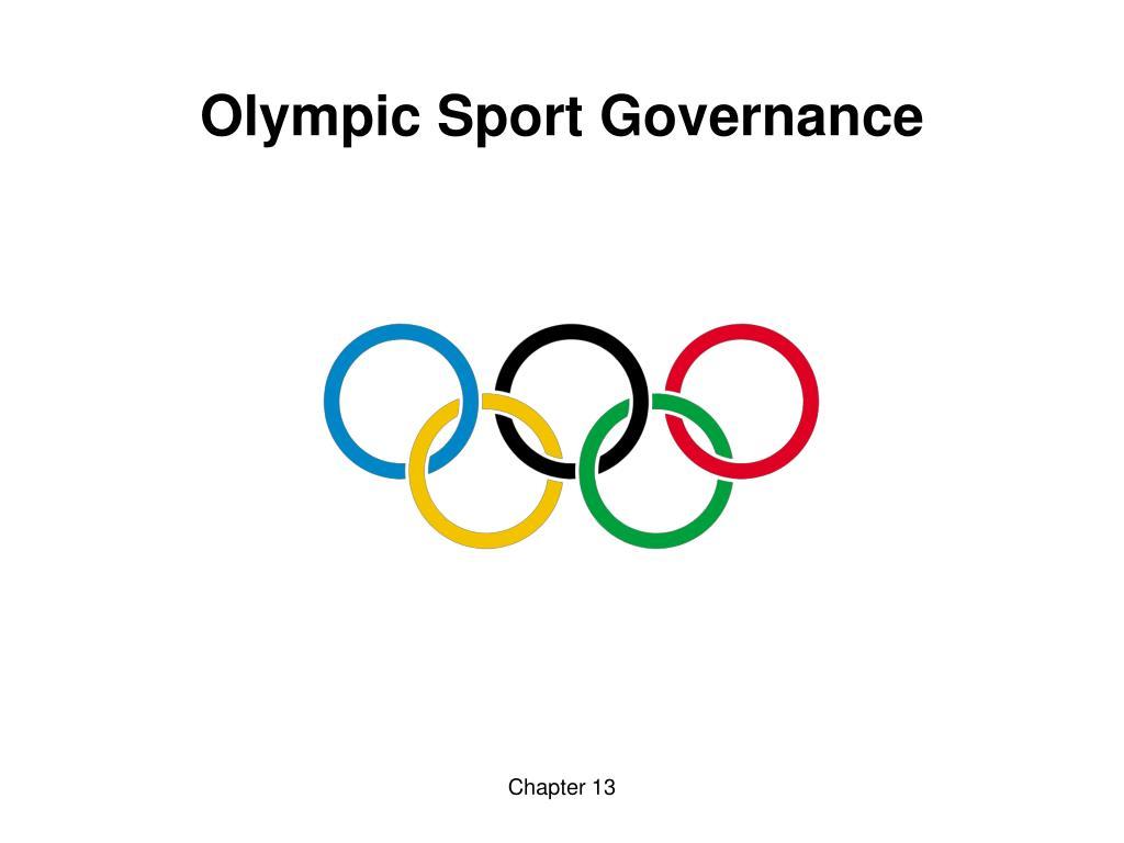olympic sport governance l.