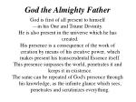 god the almighty father10