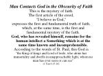 man contacts god in the obscurity of faith5