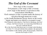 the god of the covenant1
