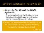 differences between those who sin24