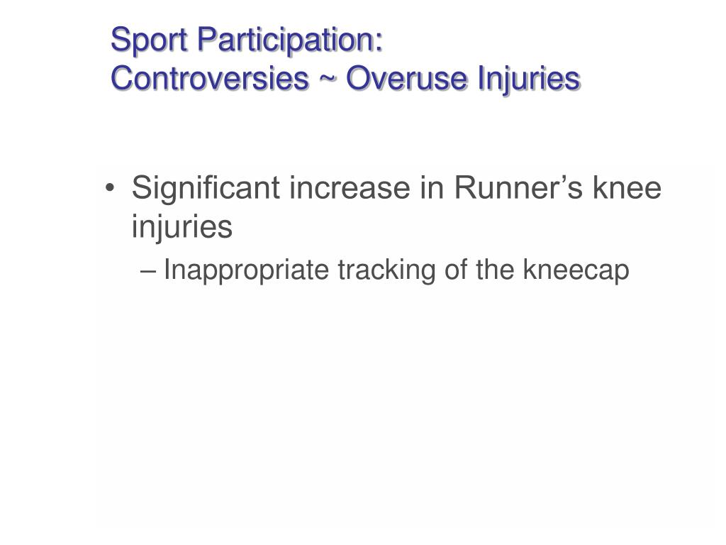 Sport Participation: