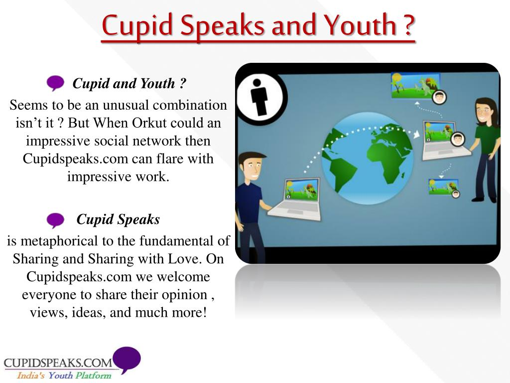 Cupid Speaks and Youth ?