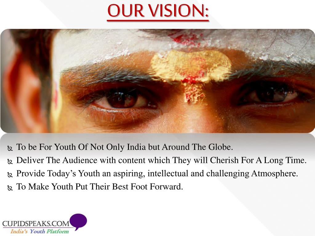 To be For Youth Of Not Only India but Around The Globe.