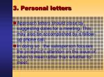 3 personal letters31