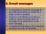 4 e mail messages33