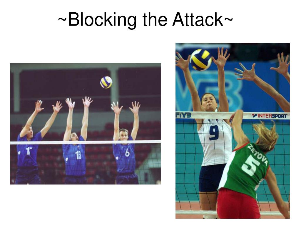 ~Blocking the Attack~