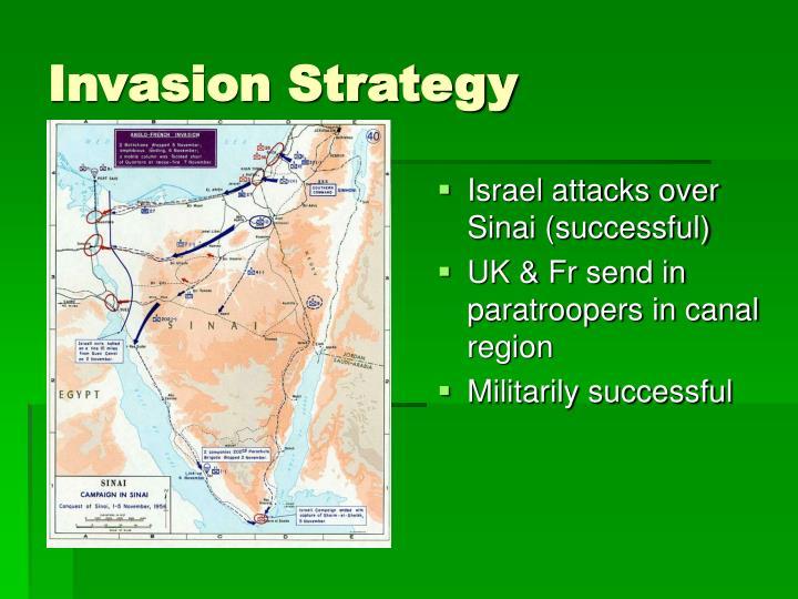 Israel attacks over Sinai (successful)