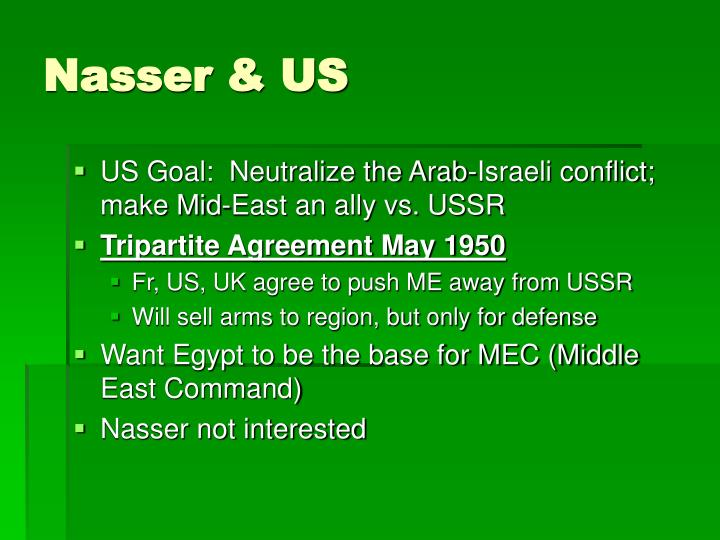 Nasser & US