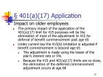 401 a 17 application10