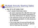 multiple annuity starting dates47