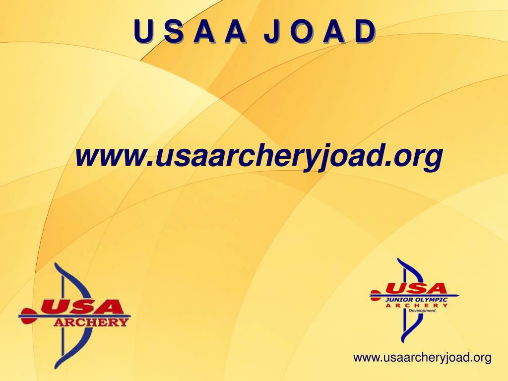 www.usaarcheryjoad.org