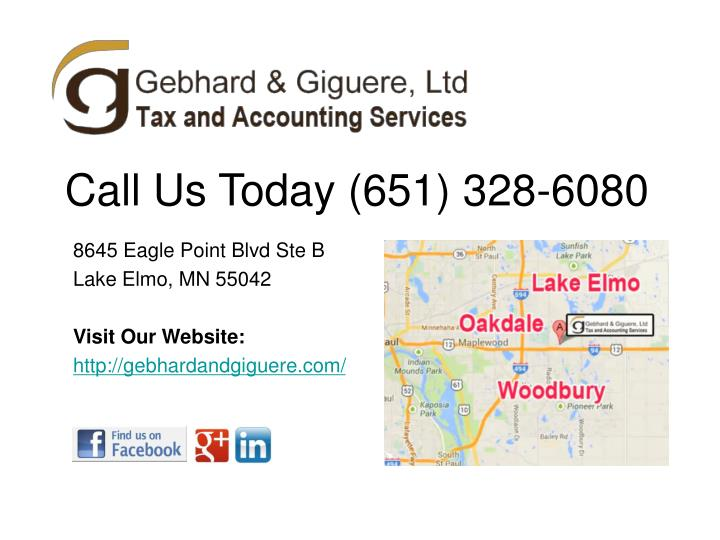 Call Us Today (651) 328-6080