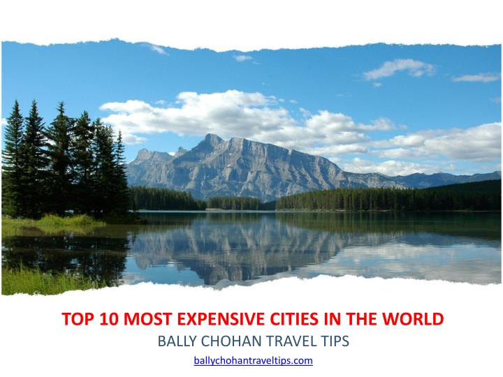 top 10 most expensive cities in the world n.